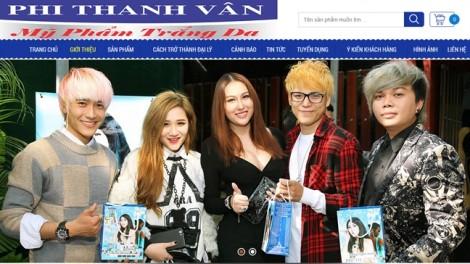 Công ty của Phi Thanh Vân sản xuất mỹ phẩm khác với đăng ký?
