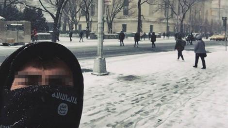 Người ủng hộ IS chụp ảnh 'selfie' ngay giữa lòng thành phố New York