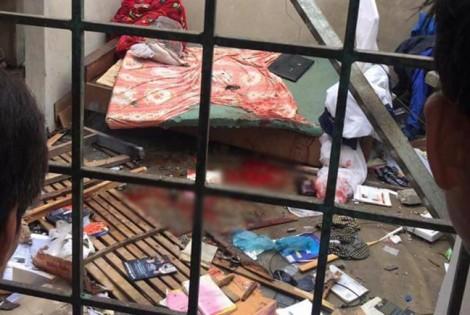 Nổ bay mái nhà, nam sinh viên bị thương nặng