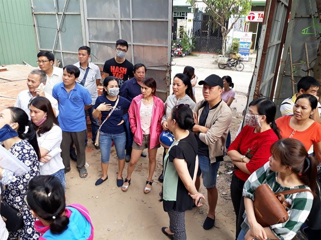 Du an Khang Gia Chanh Hung, Q.8, TP.HCM: Khach hang dieu dung vi chu dau tu... 'mat tich'?