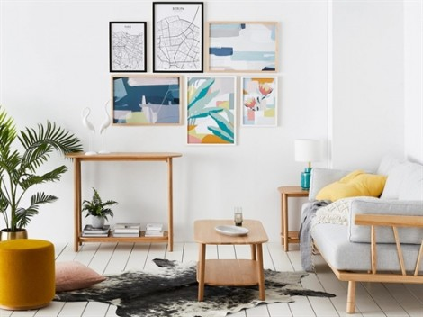 Tự tạo góc nghệ thuật cho ngôi nhà