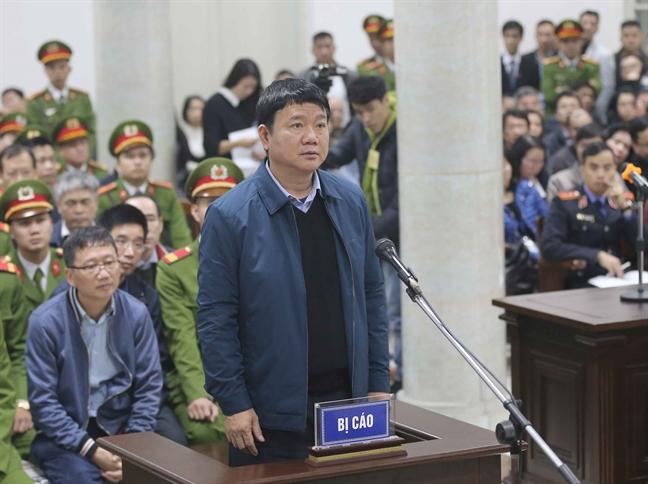Bat dau phien tòa xét xủ ong Dinh La Thang, Trịnh Xuan Thanh và 20 dòng phạm