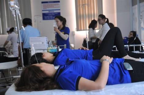 47 công nhân nhập viện cấp cứu sau bữa trưa tại công ty