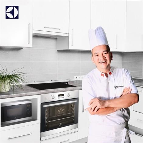 Thiết kế không gian bếp đúng chuẩn theo tư vấn của chuyên gia ẩm thực Võ Quốc