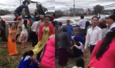 Tỉnh Gia Lai bác bỏ thông tin xe rước dâu gặp tai nạn làm nhiều người thương vong