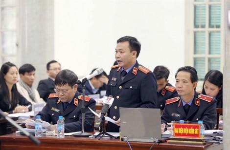 Viện KSND Hà Nội đề nghị ông Trịnh Xuân Thanh tù chung thân