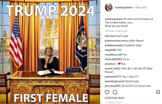 Vi sao nhieu nguoi coi Ivanka Trump van la 'thanh nu hoan hao'?