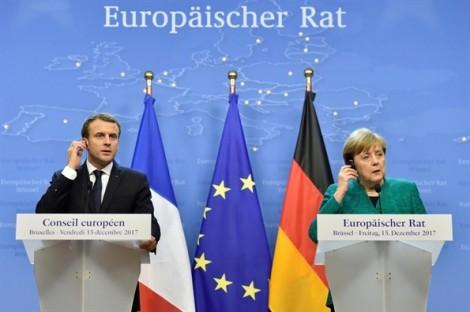 Đức sẽ đứng về phía Pháp trong 'cuộc đụng độ' với Mỹ ở Davos?