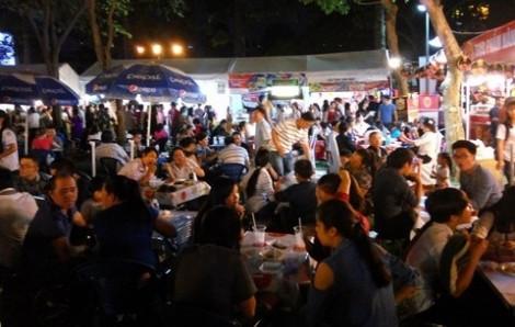 Kiến nghị không tổ chức  hội chợ trong công viên
