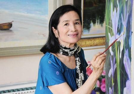 NSND Thanh Van: 'Toi bat minh phai cong nhan NSND Tra Giang la hoa si'