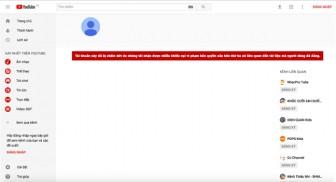 Đài truyền hình Tây Ninh chính thức mất kênh YouTube do vi phạm bản quyền