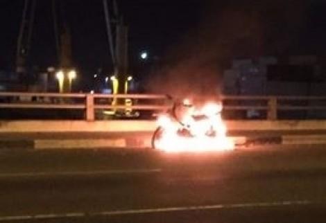 Thanh niên đốt xe máy rồi nhảy xuống sông Đồng Nai tự tử