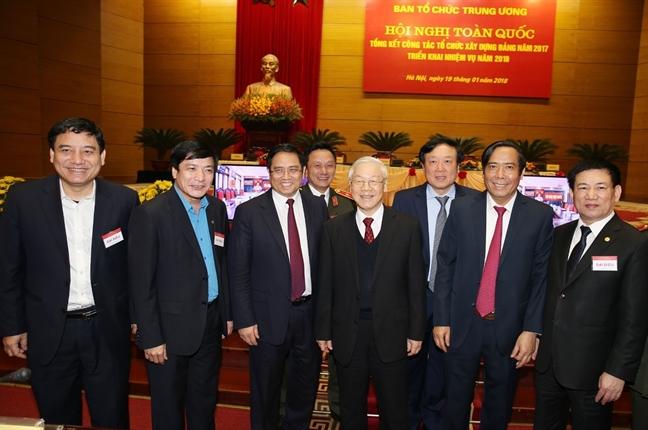Tong Bi thu Nguyen Phu Trong: Can bo, dang vien vi pham ky luat den muc bao dong