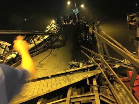 Cầu Long Kiển đổ sập vì xe quá tải gấp 5 lần cho phép vẫn cố tình chạy qua