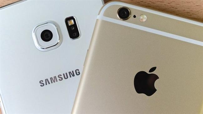 Het Apple lai den Samsung bi dieu tra vi lam cham dien thoai