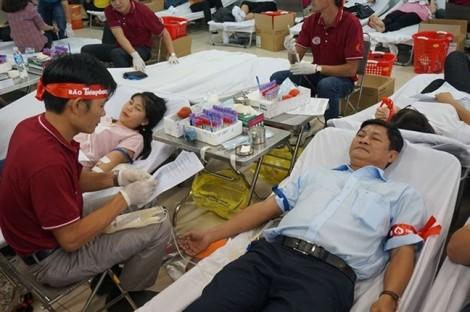 Chủ nhật đỏ tại TPHCM: Hơn 15.000 đơn vị máu được hiến tặng