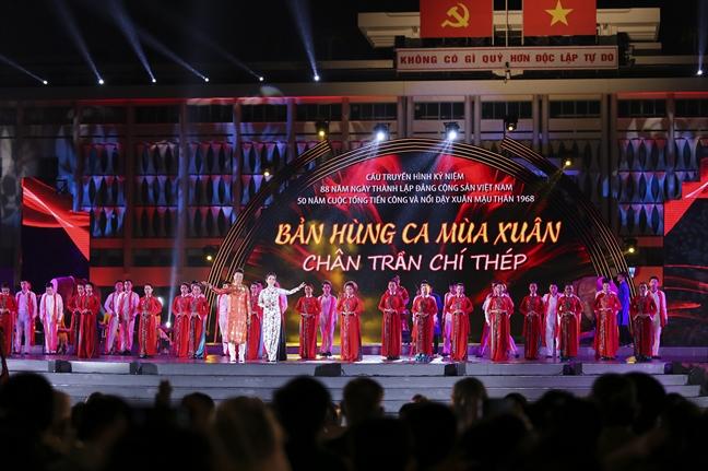 Cau truyen hinh Ban hung ca mua xuan: Chan tran - Chi thep