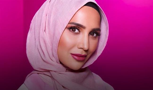 Quang khan hijab, nu blogger xuat hien trong quang cao san pham cham soc toc