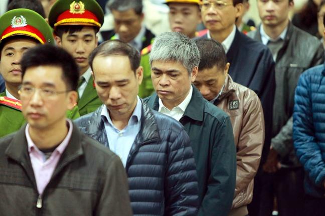 Phien toa xet xu Trinh Xuan Thanh va dong pham: Muc an phat nghiem khac doi voi cac bi cao