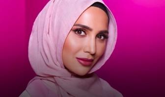 Quàng khăn hijab, nữ blogger xuất hiện trong quảng cáo sản phẩm chăm sóc tóc