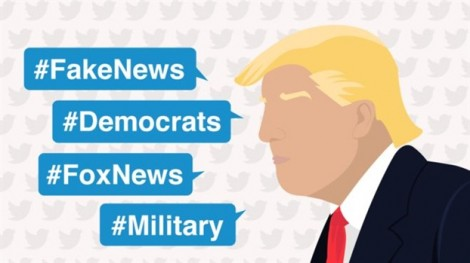Một năm trên Twitter của Tổng thống Trump