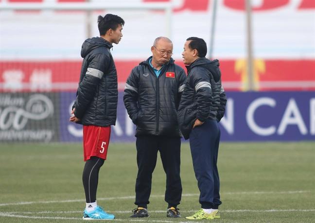 U23 Viet Nam truoc tran ban ket lich su: Dat cuoc vao su ky dieu