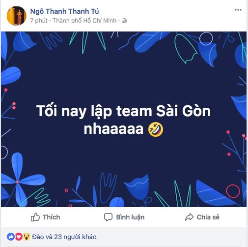 Lang giai tri han hoan, ron rang voi chien thang cua U23 Viet Nam
