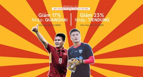 Nhiều nơi giảm giá 'ăn theo' chiến thắng đội tuyển U23 Việt Nam