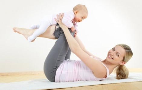Bài tập giảm mỡ bụng thần kì cho mẹ sau sinh