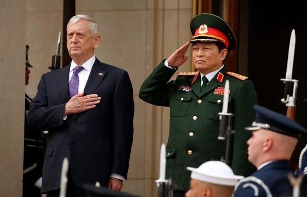 Chuyen cong du Viet Nam cua Bo truong Mattis noi gi ve chinh sach chau A cua My?
