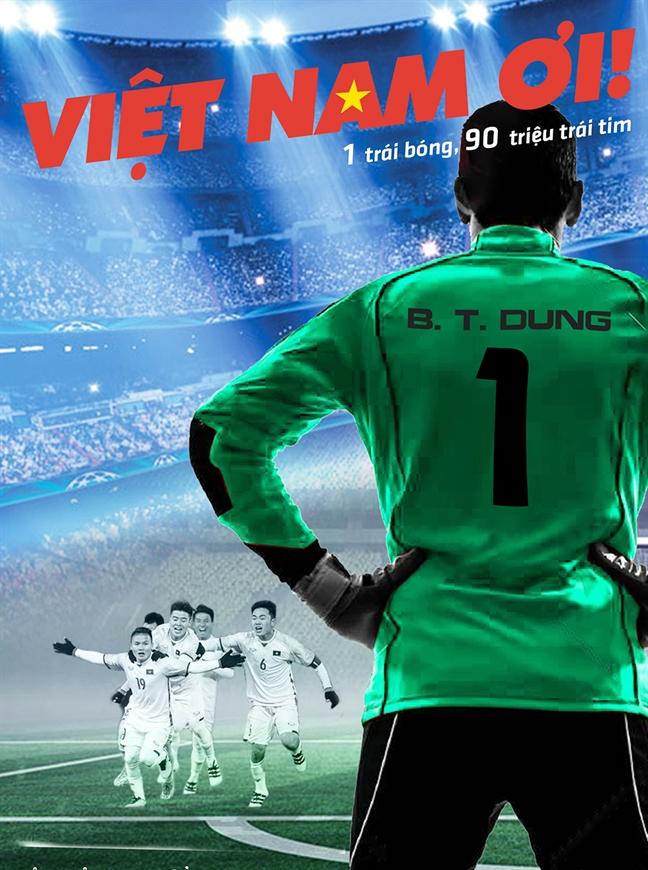 Thu mon Bui Tien Dung tro thanh nhan vat chinh trong phim dien anh