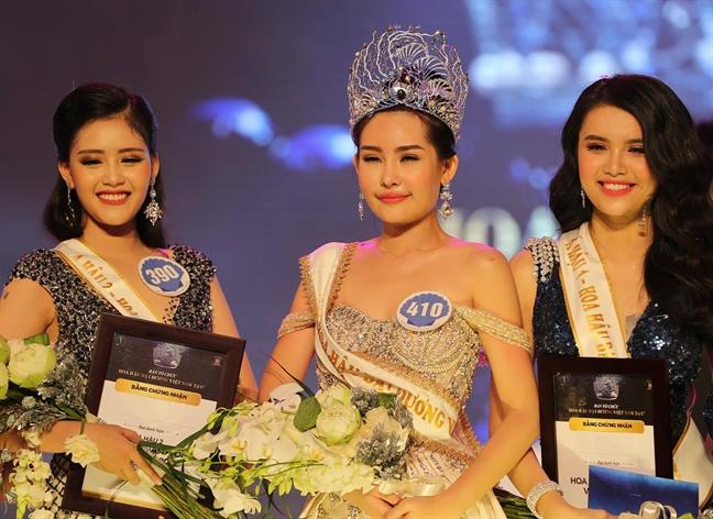 BTC 'Hoa hau Dai duong Viet Nam 2017' phot lo yeu cau thu hoi danh hieu hoa hau cua co quan quan ly?