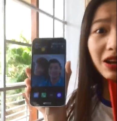 Nhom nu sinh truong chuyen lam clip 'to tinh' thu mon Bui Tien Dung
