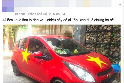 Suc soi khong khi co dong U23 Viet Nam truoc tran chung ket lich su