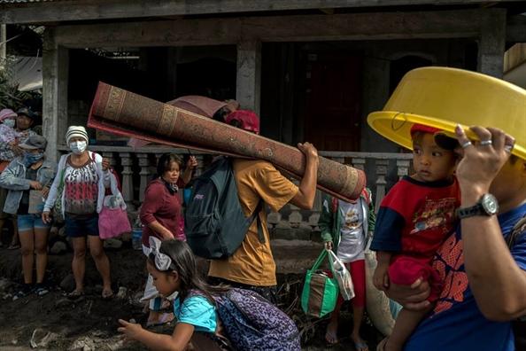 Philippines chuan bi cho tham hoa nui lua