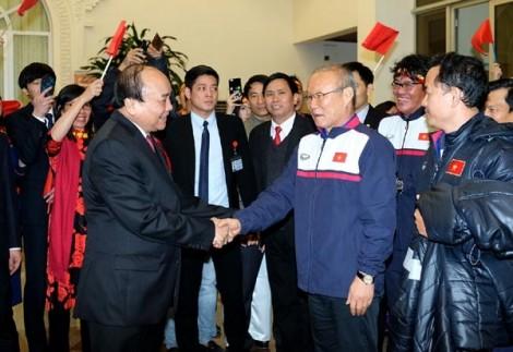 Thủ tướng chúc mừng U23 Việt Nam: Với niềm vui này thì đang đói cũng vui