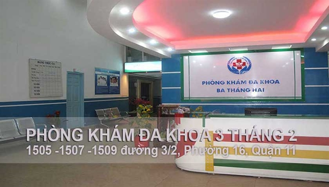 Phong kham da khoa 3 Thang 2 bi phat 210 trieu dong