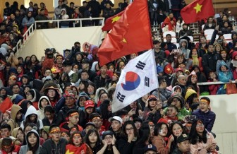 Hình ảnh các người hùng U23 Việt Nam rạng rỡ trong đêm gala mừng thành tích lịch sử trên sân Mỹ Đình