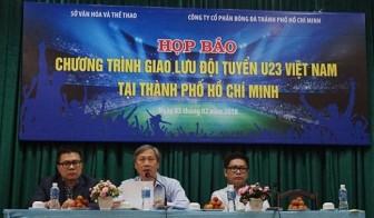25.000 vé mời để người hâm mộ TP.HCM giao lưu với đội tuyển U23 Việt Nam