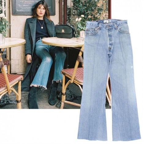 10 xu hướng quần jeans không thể bỏ qua dịp xuân về
