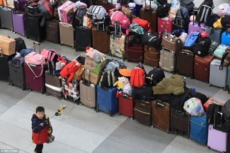 Hơn một tỉ người Trung Quốc bắt đầu cuộc 'đại xuân vận' lớn nhất thế giới