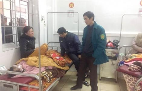 Bình gas phát nổ tại hội chợ, 7 học sinh tiểu học bị bỏng nặng