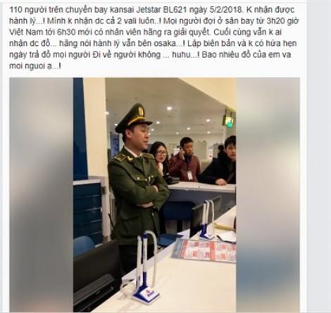 Hàng trăm hành khách bay từ Nhật về Việt Nam ngơ ngác vì thất lạc hành lý