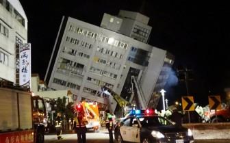 Động đất rung chuyển Đài Loan: Hơn 200 người thương vong