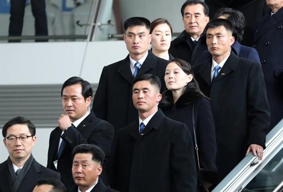 Em gai nha lanh dao Trieu Tien Kim Jong Un den Han Quoc