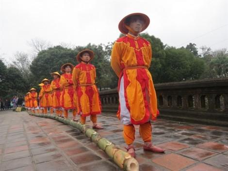 Ấn tượng nghi lễ Thướng Tiêu trước tết ở Đại nội Huế