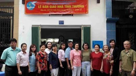 Hội LHPN TP.HCM trao 5 mái ấm tình thương cho phụ nữ nghèo