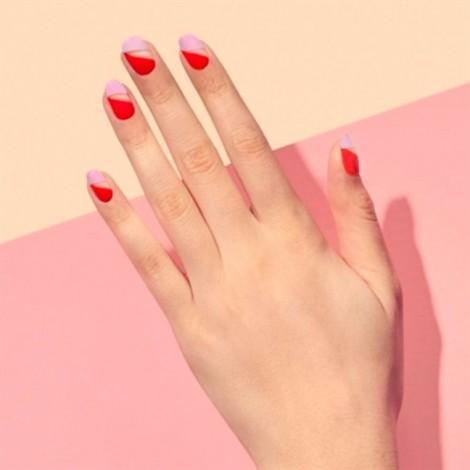 Mẫu nail ngọt ngào cho ngày Valentine