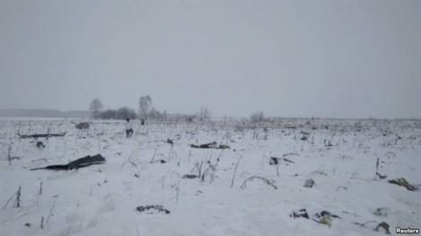Vụ rơi máy bay ở Nga: Không có tên người Việt Nam trong danh sách nạn nhân