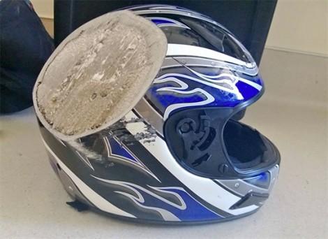 Lý do khiến bạn phải đội mũ bảo hiểm khi du lịch bằng xe máy